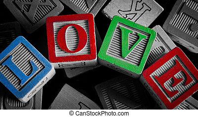liefde, woord