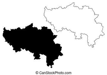 Liege Province (Kingdom of Belgium, Provinces of Belgium, ...