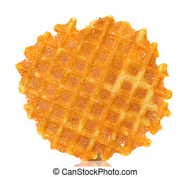Liege waffles isolated