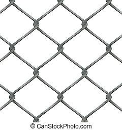 lien, chaîne, barrière