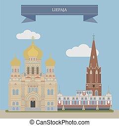 Liepaja, Latvia - Liepaja, city in western Latvia, located...