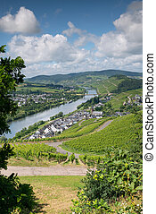Lieser close to Bernkastel, Moselle, Germany