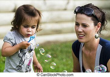 Liesure and Recreation - Soap Bubbles