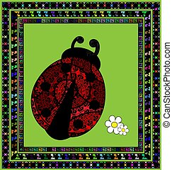 lieveheersbeest, frame