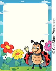 lieveheersbeest, thema, 2, frame