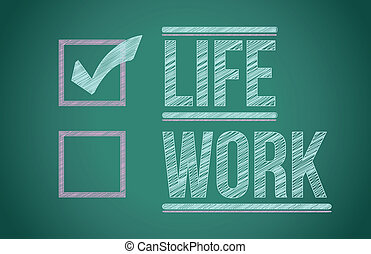 Life and work choices