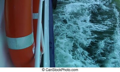 Life Buoy Emergency Safety Protection on Ferryboat