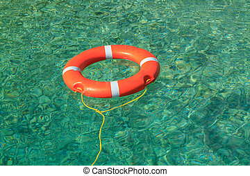 Life buoy for safety at sea