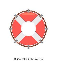 life buoy rescue saver boat