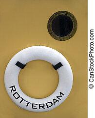 Life buoy, Rotterdam, Holland