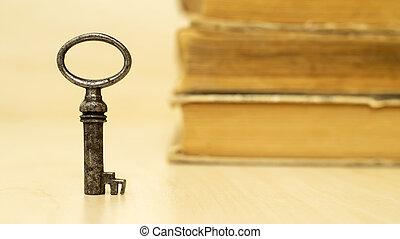 Life coaching concept key