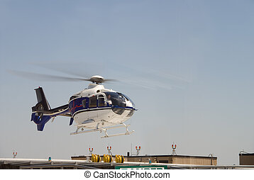 Life Flight Helecopter