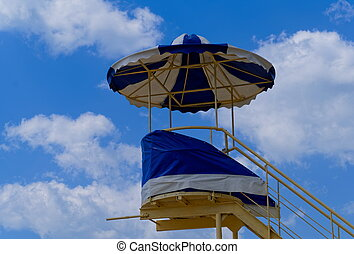 Life-guard tower