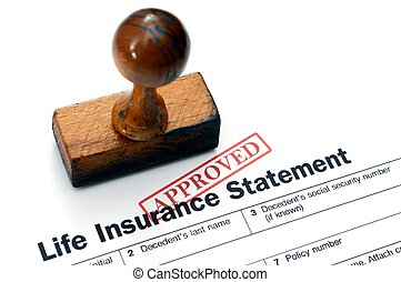 Life insurance - approved