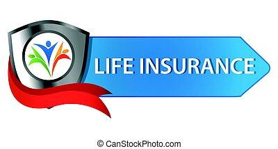 Life Insurance Button