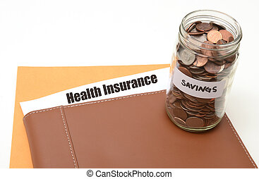 life insurance savings concept