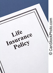 Life Insurance - Document of Life Insurance Policy for...