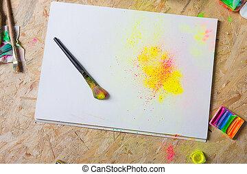life., nog, kleurrijke