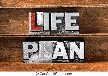 life plan tray
