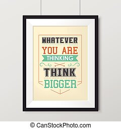 life quotes poster anything new poster - whatever you are...