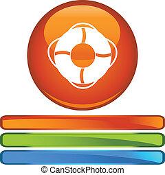 Life Ring web icon