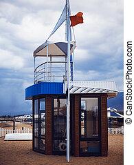 Life-saving tower