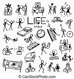life style doodles