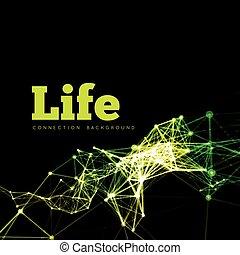 Life vector illustration