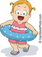 lifebuoy, dziewczyna