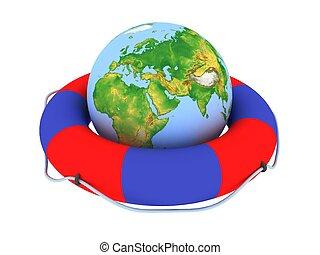 Lifebuoy Globe