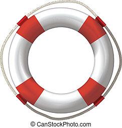 lifebuoy, lifebelt