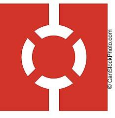 lifebuoy, logotipo