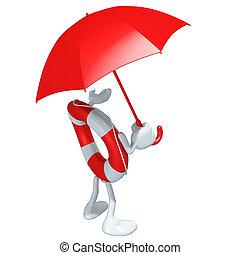 Lifebuoy Mascot Figure - A 3D concept and presentation ...