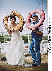 lifebuoy, matrimonio