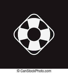 lifebuoy, pictogram