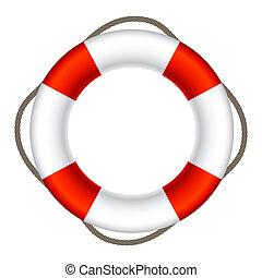 Lifebuoy Sign Symbol Illustration