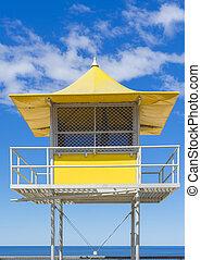 Lifeguard patrol tower