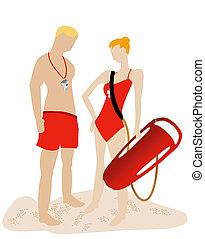 Lifeguards Illustration