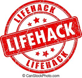Lifehack stamp