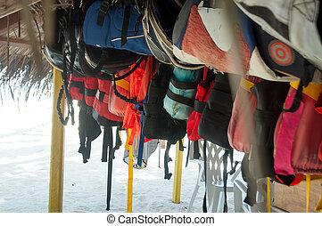 lifejacket, 水下通气管, 設備