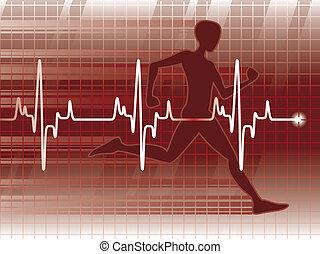 Lifeline4 - A cardiogram and a physical fitness exam