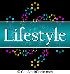 Lifestyle Dark Colorful Neon