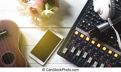 Lifestyle recording equipment.