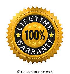 Lifetime Warranty Sign