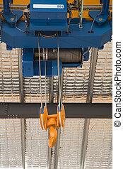 Lift - Close up of a factory overhead crane
