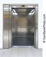 Lift - Elevator with open doors