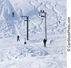 lift for skiers