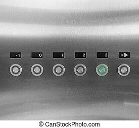 Lift keypad