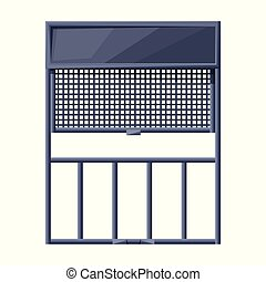 Lift vector icon. Cartoon vector icon isolated on white background lift.
