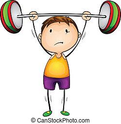 lifter, poids